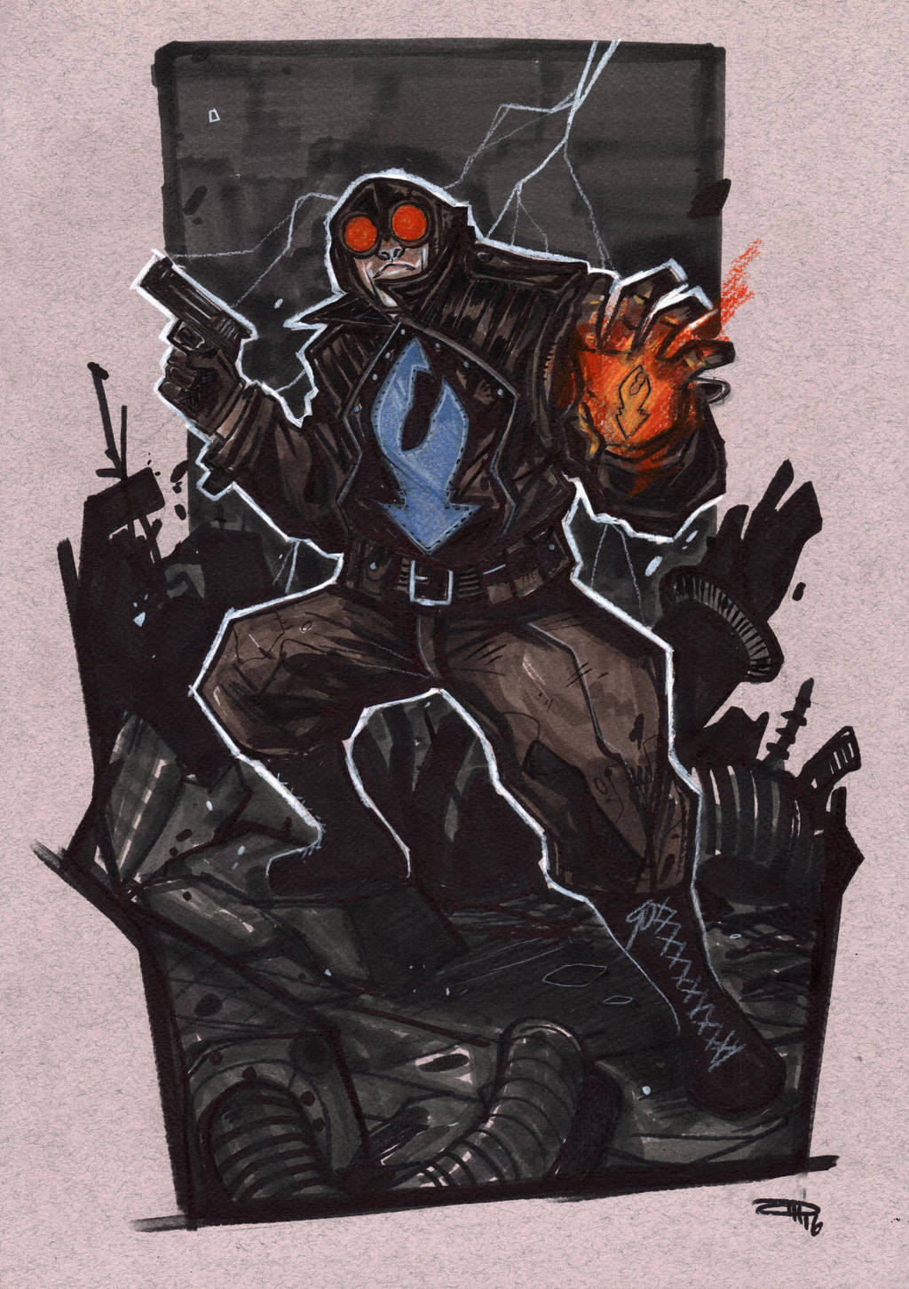 Lobster Johnson by DenisM79