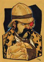 Steampunk Kraven by DenisM79