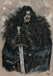 Jon Snow by DenisM79