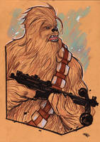 Chewbacca by DenisM79