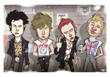 Sex Pistols by DenisM79