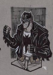 Rockabilly Batman by DenisM79