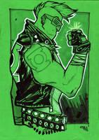 Punk Green Lantern by DenisM79