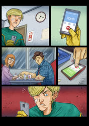 Kick-Ass Board Game - comics page by DenisM79