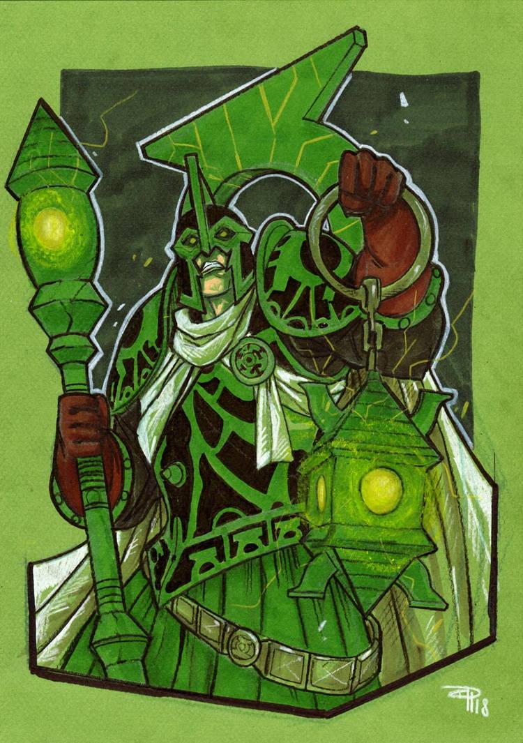 Arcane Green Lantern by DenisM79