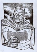 Frank Miller Batman by DenisM79