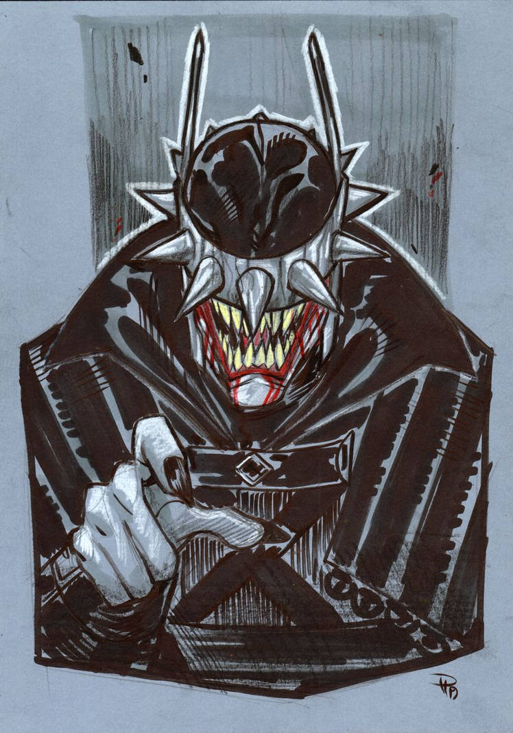 Batman Who Laughs by DenisM79