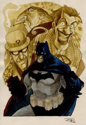 Batman : Color by DenisM79