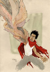 'Akira' : Tetsuo - Color by DenisM79