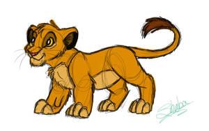 Simba Corel Painter by ShebaWild