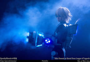 League of Legends - Ezreal (Pulsefire) by spooky-epiic