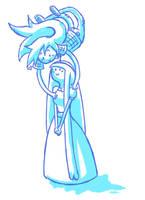 Marceline Bubblegum doodle by 8Aud8