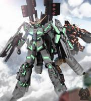 RX-0 Full Armor Unicorn Gundam by romerskixx