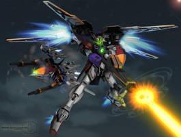 Wing Gundam ver.ZERO by romerskixx