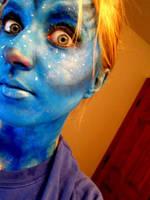 Avatar Facepaint. by KyleeGreider