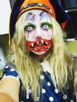 Haunted House Clown by KyleeGreider