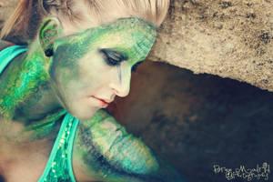 The Reptile Girl - 2 by KyleeGreider
