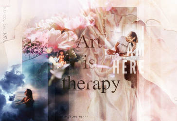 Art Is Therapy by PannaHerbatka