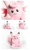Handmade Clefable Plush by pookat