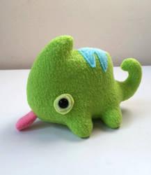 Lil Chameleon Plush by pookat