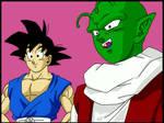 Goku y Dende DBGT by minguinpingu05