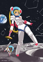 Sailor Moon Lander by EyalDegabli