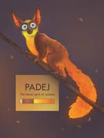 Lemur spirit of autumn (ADOPTABLE- OPEN) by Sneiks