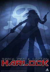 SPACE PIRATE CAPTAIN HARLOCK by fixer79