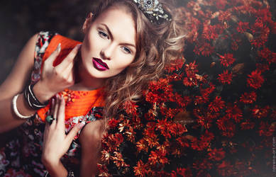 The Beauty Garden. Elena by RavenaJuly