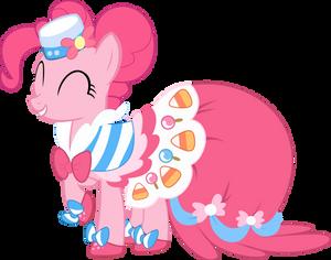 Joyous Pinkie Pie Vector by Lextsy