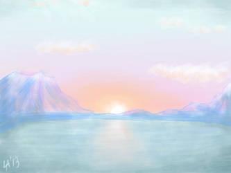 Landscape. Day 11. by Lady-Arly