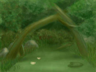 Landscape. Day 12. by Lady-Arly