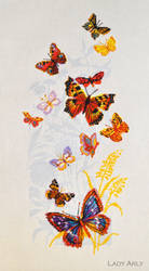 Butterflies by Lady-Arly