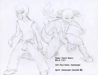 My Hero Academia: Yamori Moeru by MCN51FJ