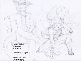 My Hero Academia: Sankyuu Kitsuneumi by MCN51FJ