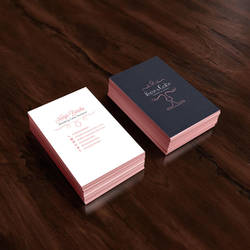 Business Card design for Rose and Cake by safa-kadhim