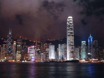 Tonight in Hong Kong 1 by darksidehk