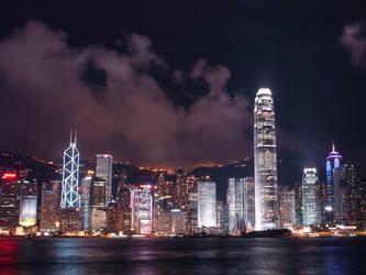 Tonight in Hong Kong 2 by darksidehk