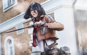 Mikasa   Part 1 by HakuMikiriyami