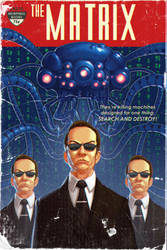 The Matrix Pulp Cover by TimothyAndersonArt