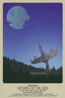 Return of the Jedi by TimothyAndersonArt