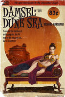 Star Wars Pulp, part 6: Damsel of the Dune Sea by TimothyAndersonArt