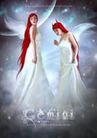 Hibrid Zodiac. Gemini. by katherine-lemus