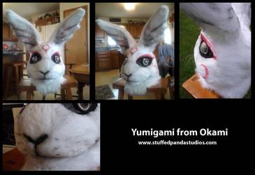 Yumigami Fursuit Head by stuffedpanda-cosplay