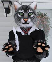 Tabby Cat [SOLD] by stuffedpanda-cosplay