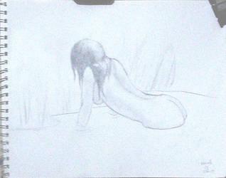 Naiad concept drawing by drwhofan
