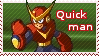 Quick Man Stamp by z-e-p-p-y
