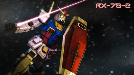 RX-78-2 by Hawpuh