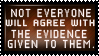 Why the same evidence, but different conclusions? by XxDiaLinnxX
