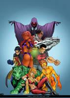 Teen titans by comic-eeb